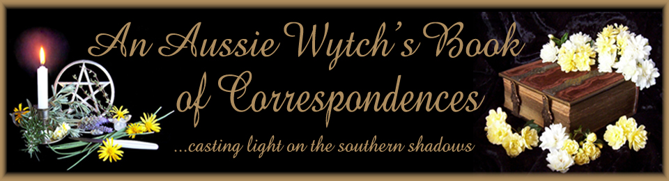 An Aussie Wytch's Book of Correspondences